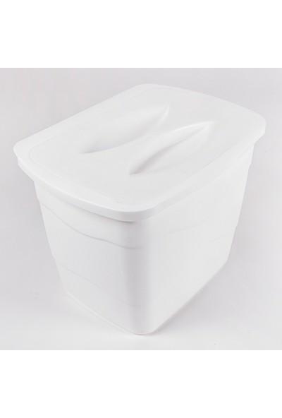 Omak Decobella Grande Pratik Kapaklı Çöp Kovası