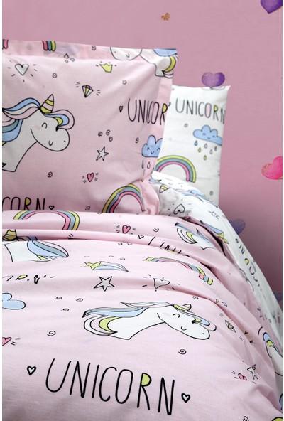 nordqueen Ranforce Nevresim Seti Tek Kişilik Unicorn V1