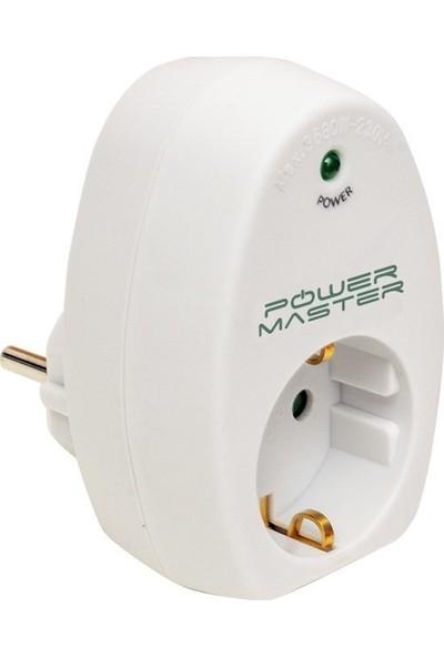 Powermaster 16817 Akım Korumalı Tekli Priz