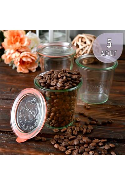 Weck 290 ml Cam Saklama Kavanoz Seti (5 Adet)
