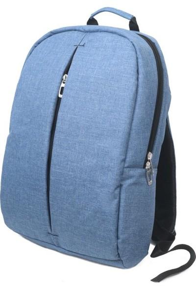 "Pera Bag Premium 15.6"" Laptop Çantası Mavi"