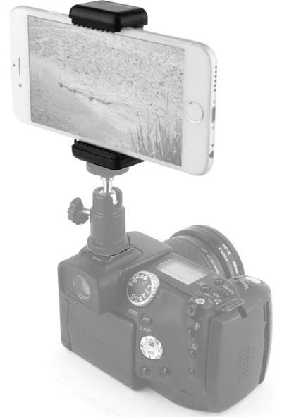 Knmaster Tripod Monopod Selfie Çubuğu Için Telefon Tutucu