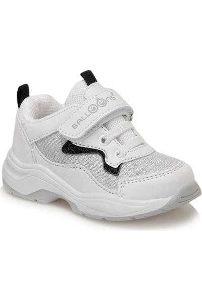 Balloon-S Pontu Beyaz Kız Çocuk Spor Ayakkabı
