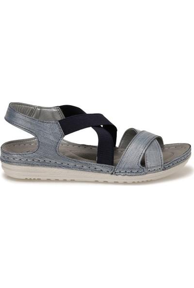 Polaris 161164.ZFAS Mavi Kadın Sandalet