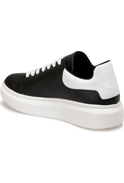 Butigo Adelitas Siyah Kadın Havuz Taban Sneaker