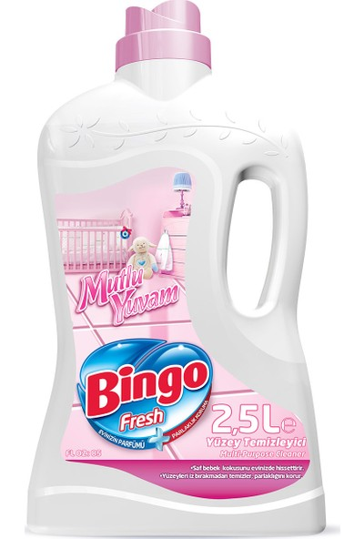 Bingo Fresh Yüzey Temizleyici Mutlu Yuvam 2,5 L