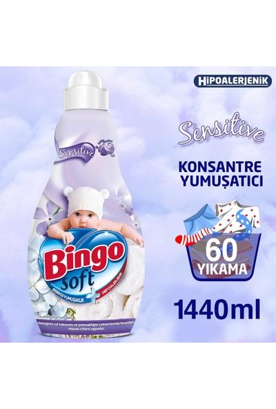 Bingo Konsantre Yumuşatıcı Sensitive 1440 ml