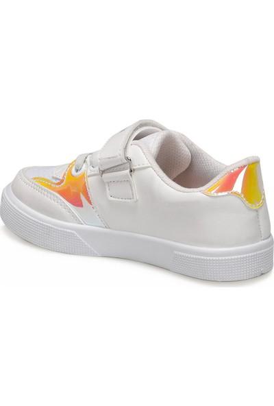 U.S. Polo Assn. Wealth Beyaz Kız Çocuk Sneaker Ayakkabı