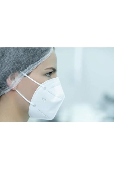 Musk Maske N95 Ffp2 Nr Özellikli Ce ve Iso Sertifikalı 10'lü