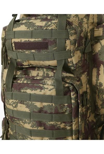 Asker Kolisi 110 lt Kamuflaj Operasyon Askeri Dağcı Taktik Çanta