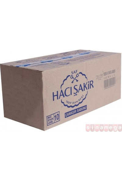 Hacı Şakir Sabun 600GR Gül (Rose) - 15'li