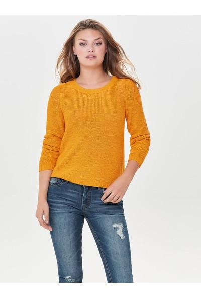 Only Onlgeena Xo L/s Pullover Kadın Bluz