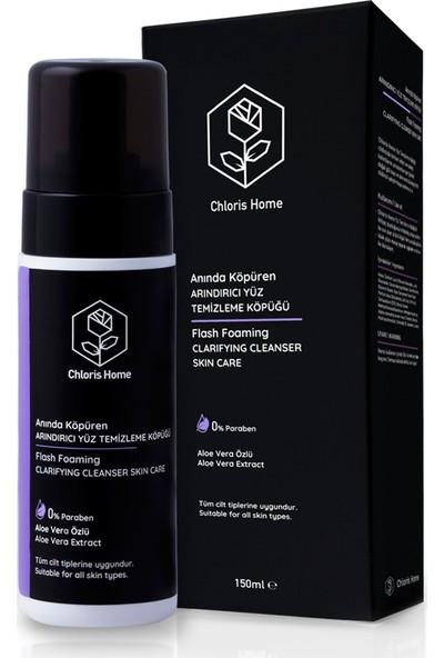 Chloris Home Aloe Vera Özlü Arındırıcı Yüz Temizleme Köpüğü