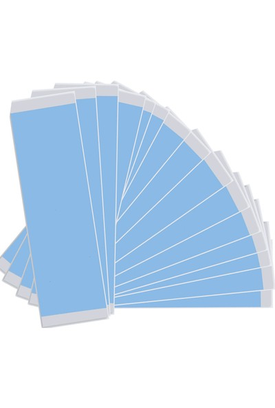 Truetape Mavi Protez Saç Bandı 36 Adet Düz