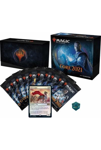 Magic: The Gathering Core Set 2021 (M21) Bundle 10 Booster Packs + 40 Lands (190 Kart)