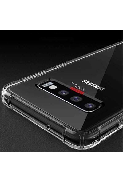 Tekno Grup Samsung Galaxy S9 Plus Kılıf Ultra Korumalı Şeffaf Anti Shock Kılıf + Tam Kaplayan 6D Polymer Nano Ekran Koruyucu