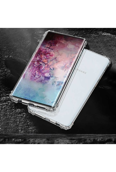 Tekno Grup Samsung Galaxy Note 10 Plus Kılıf Ultra Korumalı Şeffaf Anti Shock Kılıf