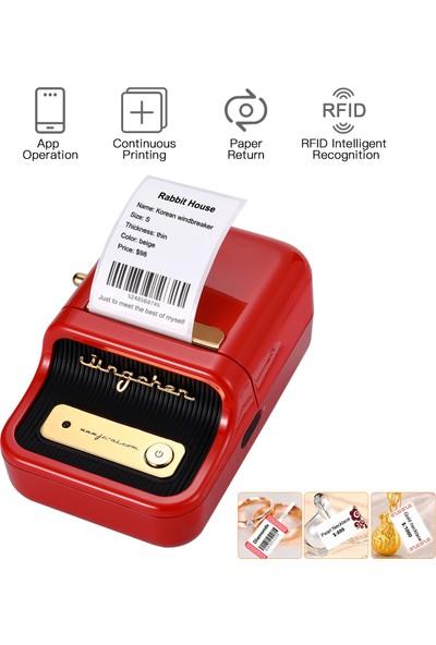 Buyfun Etiket Yazıcı Taşınabilir Kablosuz Bt Termal Etiket (Yurt Dışından)
