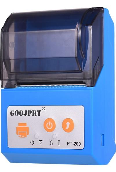 Goojprt PT200 Taşınabilir Kablosuz Bt 58 mmMakbuz Termal (Yurt Dışından)