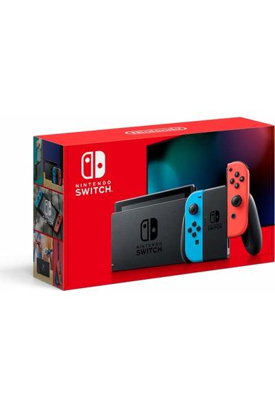 Nintendo Switch Neon Red Blue Yeni Model