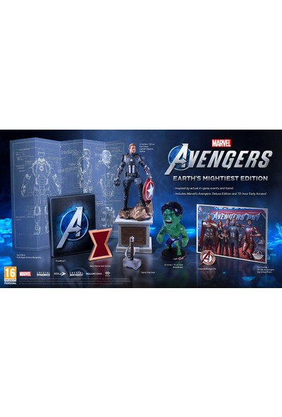 Marvels Avengers Earths Mighiest Edition PS4 Oyun