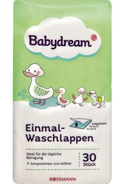 Babydream Bebek Yıkama Bezi Tek Kullanımlık 30 Adet
