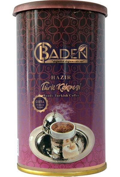 Baden Hazır Türk Kahvesi Orta 200 gr Tnk
