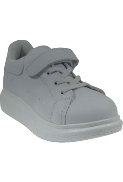 Cool Melis Flt Kız-Erkek Yüksek Taban Cırtlı Çocuk Spor Ayakkabı