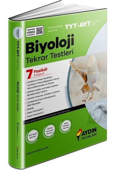 Aydın Yayınları TYT-AYT Biyoloji Tekrar Testleri