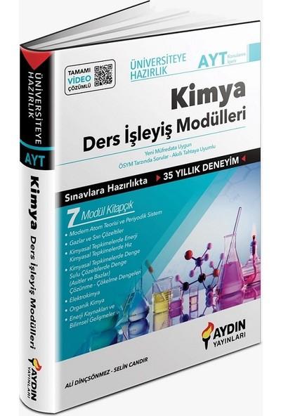 Aydın Yayınları AYT Kimya Ders Işleyiş Modülleri