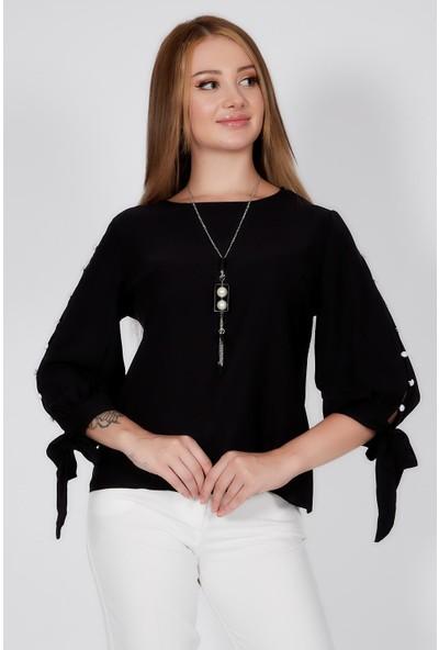 Milus Kolye Detaylı Bluz
