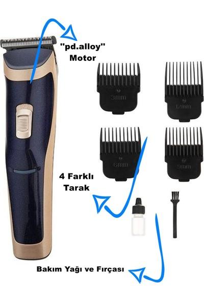 Bydiz Profesyonel Tıraş Makinesi BY-6005 + 4 Tarak