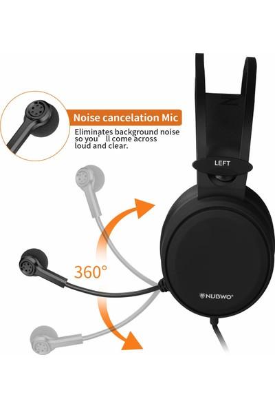 Nubwo Stereo Oyuncu Kulaklığı Gaming (Yurt Dışından)