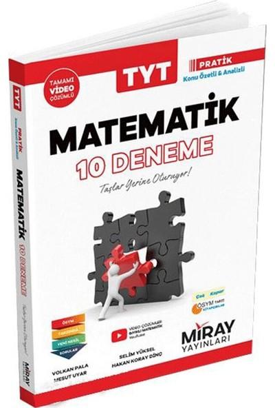 Miray Yayınları TYT Matematik 10 Deneme