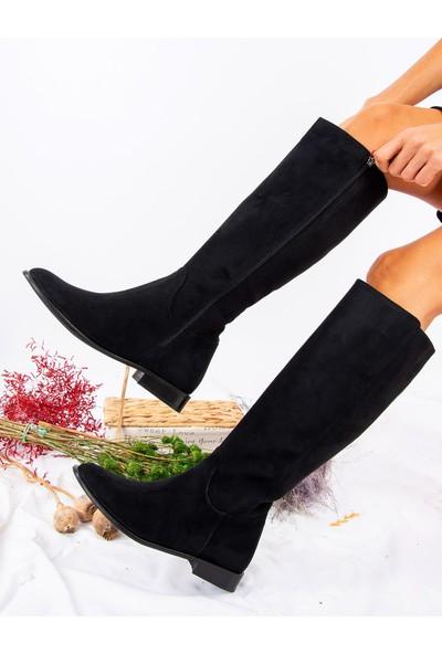Fox Shoes Siyah Kadın Çizme J654065602