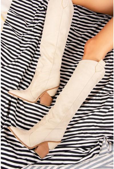 Fox Shoes Ten Kadın Çizme J372537202