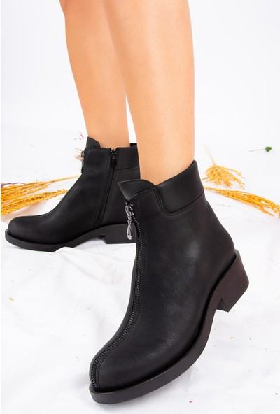 Fox Shoes Siyah Kadın Bot J674120309