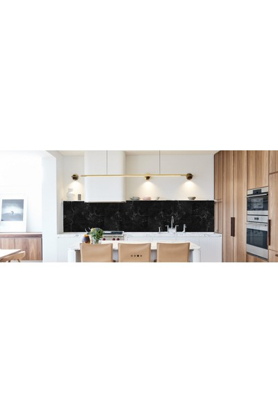 Pratikolay Mutfak Tezgah Arası Mermer Desen Stıcker