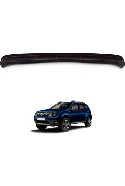Dacia Duster Arka Tampon Eşiği Koruma (ABS) Mat Siyah 2013-2017