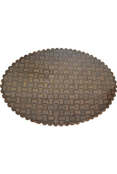 Arasta Oreon Ahşap Oval Orta Sehpa