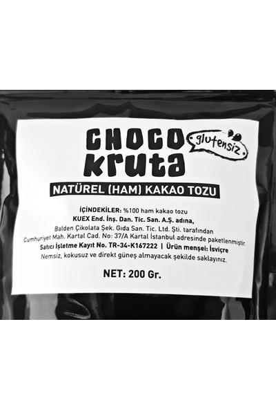 Choco Kruta Glutensiz Ghana Ham Kakao Tozu 200 gr