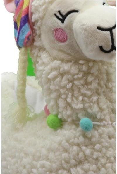 Twigy TT0736 Lama Krem Kışlık Kadın Panduf