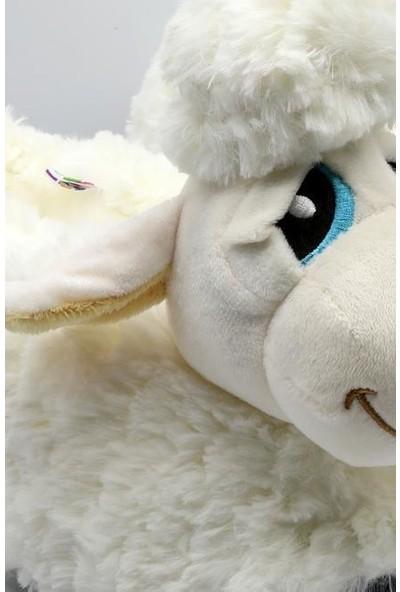 Twigy TT0750 Kuzu Beyaz Kışlık Kadın Panduf