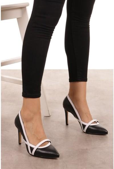 Mio Gusto Lucy Siyah Topuklu Ayakkabı