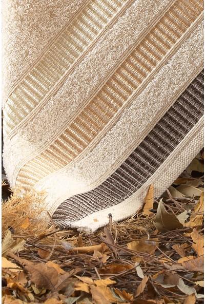 Binnur Natural Pamuk 2'li Antibakteriyel Banyo Havlu Seti