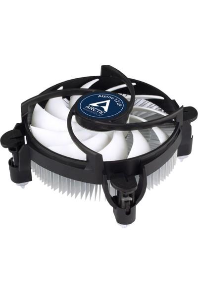 Arctic Alpine 12 LP Intel Uyumlu Low Profile 4pin PWM İşlemci Soğutucu (AR-ACALP00029A)