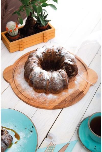 Joy Kitchen Ahşap Kek Fanusu