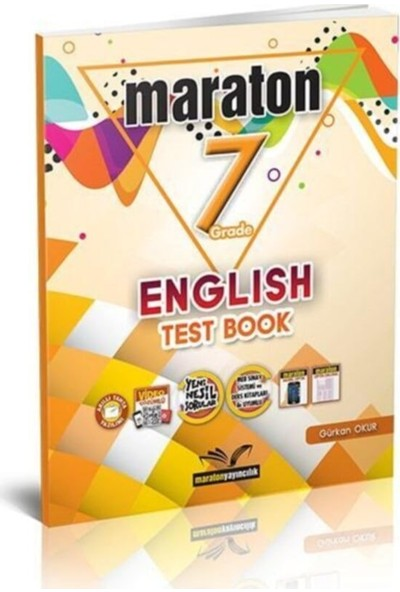 Maraton Grade 7 English Test Book