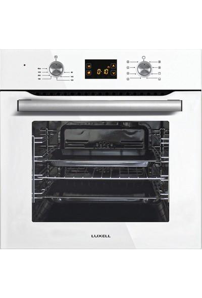 Luxell Dijital Set Beyaz (B66-SF2DDT Fırın 40TAHDF Ocak DA-835 Davlumbaz)
