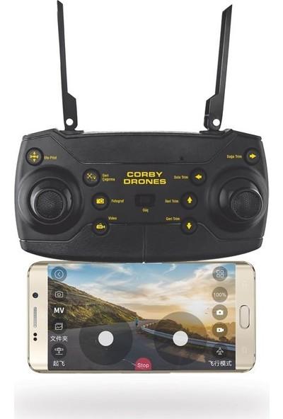 Corby CX007 Zoom Pro Smart Kameralı Drone + 2 Batarya